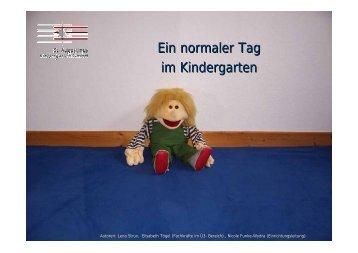 Ein normaler Tag im Kindergarten - St. Augustinus Kindergarten ...