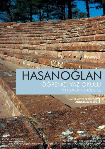 Yaz Okulu programına erişmek için - Mimarlar Odası Ankara Şubesi