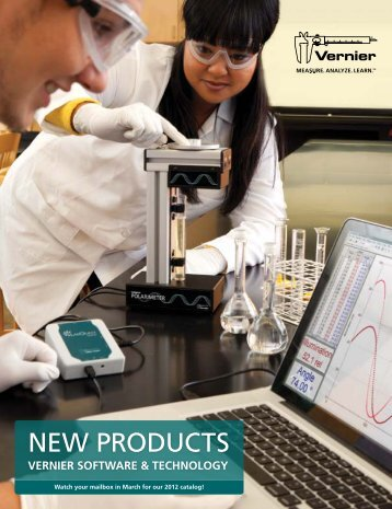 New Products - Vernier Software & Technology