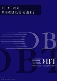 OBT Network - Minimum Requirements small - OBTs