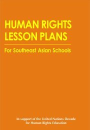 HUMAN RIGHTS LESSON PLANS - Friedrich Naumann Foundation