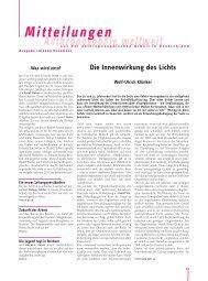 Die Innenwirkung des Lichts - Anthroposophische Gesellschaft in ...