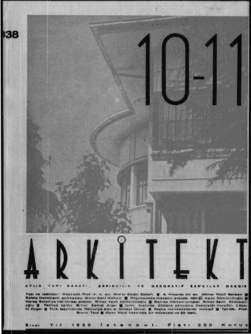 38 - Mimarlar Odası Arkitekt Veritabanı