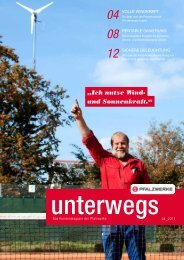 unterwegs 04_2011 - Pfalzwerke