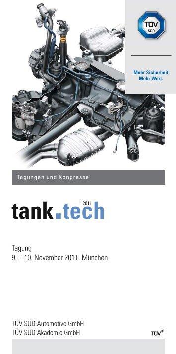 tank.tech 2011 - TÜV Süd