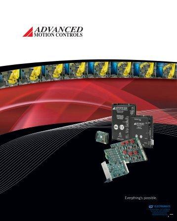 AMC Capabilities Brochure - Electromate Industrial Sales Limited