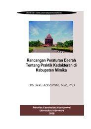 Rancangan Peraturan Daerah Tentang Praktik Kedokteran di ...