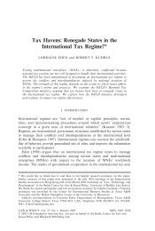 Renegade States in the International Tax Regime? - Wiley Online ...