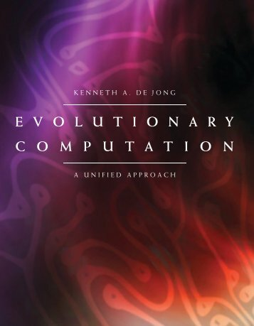 Evolutionary Computation : A Unified Approach