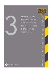recomanacions reglamentàries i de seguretat per la compra o ... - UPC