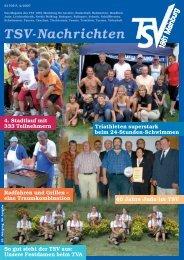 TSV-Nachrichten 4/2007 - des TSV 1861 Mainburg eV