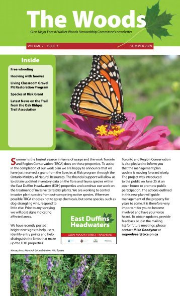 East Duffins Headwaters - Toronto and Region Conservation Authority