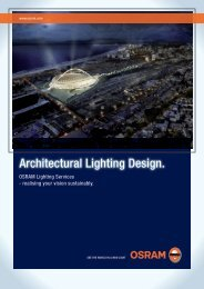 Architectural Lighting Design. - OSRAM