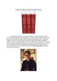 kubbealtı misalli büyük türkçe sözlük