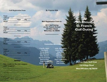 Golf Outing Flyer-9th Annual Final.xps - St. Francis of Assisi Cathedral
