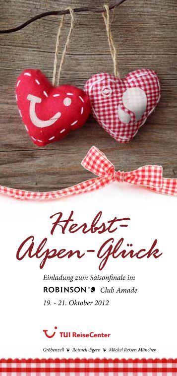Herbst- Alpen-Glück - TUI ReiseCenter