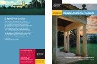 Human Anatomy Program Brochure - University of Guelph