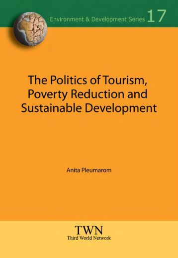 The Politics of Tourism, Poverty Reduction and Sustainable ...