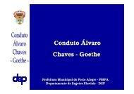 Conduto Álvaro Chaves - Goethe - Prefeitura Municipal de Porto ...