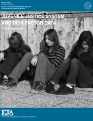 Juvenile Justice System and Risk Factor Data 2008 Annual Report