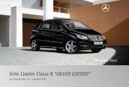 B GRAND EDITION - Mercedes-Benz Deutschland