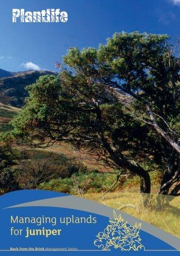 Managing uplands - Plantlife