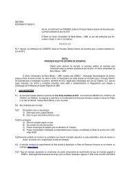 Edital do Processo Seletivo Externo de Docentes - UBM