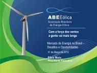 Energia Eólica - Cogen