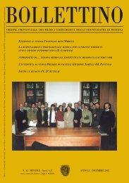 Dicembre 2002 (pdf - 1.2 MB) - Ordine Provinciale dei Medici ...