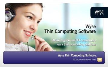 Wyse sx0 firmware