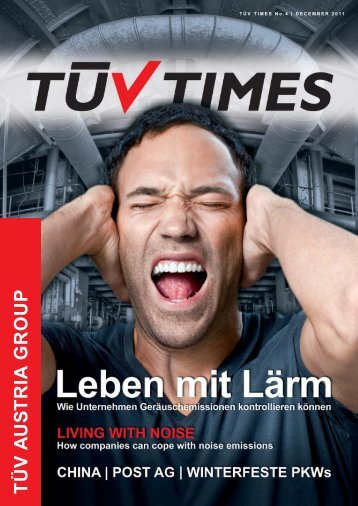 TÃœV TIMES Nr. 4, Dezember 2011 - TÃœV Austria