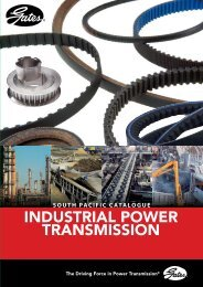 Gates - Industrial Power Transmission Catalogue