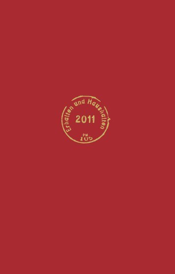 Jahresbericht 2011 - Michael-Succow-Stiftung