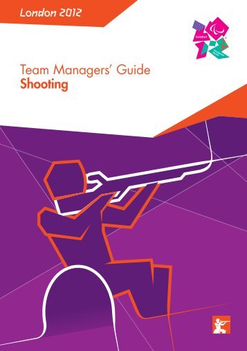 London 2012 Team Managers' Guide Shooting
