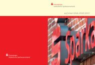 auf einen blick 2010|2011 - Ostdeutscher Sparkassenverband
