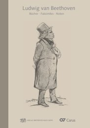 Ludwig van Beethoven - Carus-Verlag