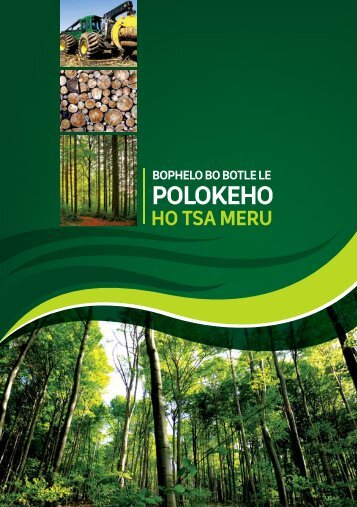 Health and Safety in Forestry- Sesotho - Department of Labour