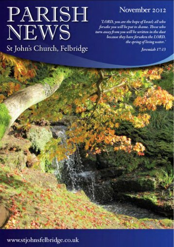 Monday, 5th November 2 - St John's Felbridge