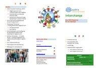 Info Graz Interchange - CISV