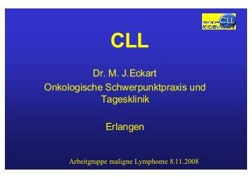 Chronisch lymphatische Leukämie - Tumorzentrum Erlangen ...
