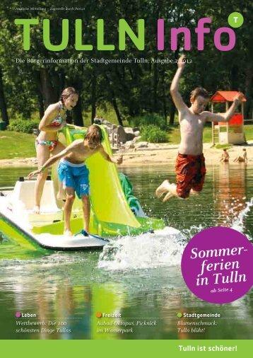 Sommer- ferien in Tulln - Tulln an der Donau