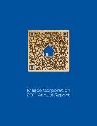 Masco Corporation 2011 Annual Report
