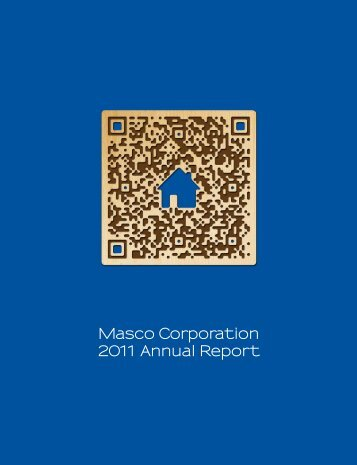 Masco Corporation 2011 Annual Report