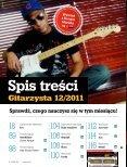 Gitarzysta 12/2011 - UlubionyKiosk - Page 4