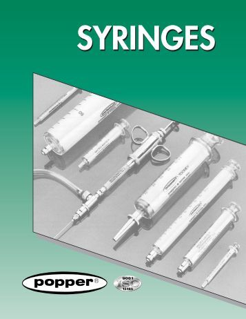 SEC 4 Syringe - Lasalle Scientific Inc.