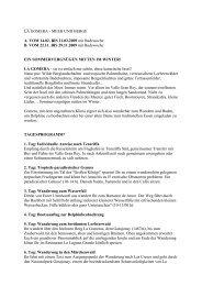 LA GOMERA - MEER UND BERGE A. VOM ... - Eine Welt Reisen