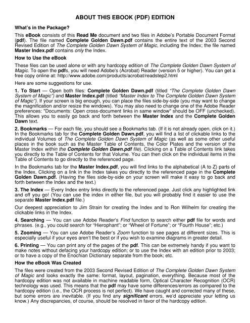 The Complete Golden Dawn System of Magic - Original Falcon Press