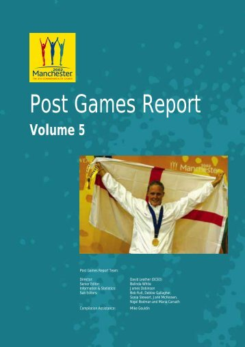 Post Games Report - Commonwealth Games Federation
