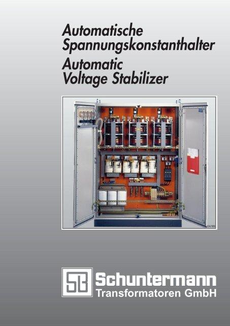 Automatische Spannungskonstanthalter Automatic Voltage Stabilizer