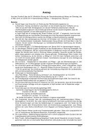 Protokoll 54b 09-03-2010 - Hittisau